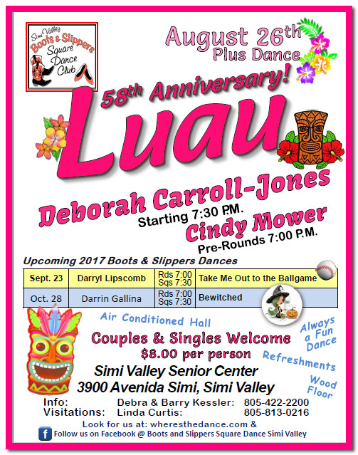 58th Anniversary Luau @ Simi Valley Senior Center