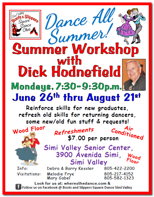 Summer Workshop with Dick Hodnefield