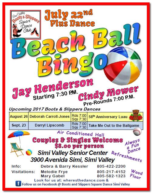 Beach Ball Bingo @ Simi Valley Senior Center