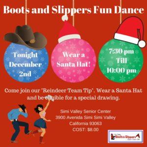 December Class Fun Dance @ Simi Valley Senior Center