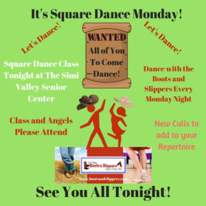Weekly Square Dance Class @ Simi Valley Senior Center