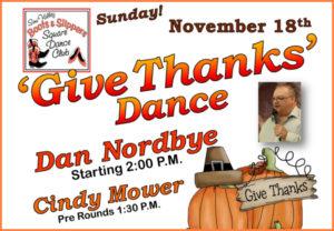 Give Thanks Square Dance @ Simi Valley Senior Center